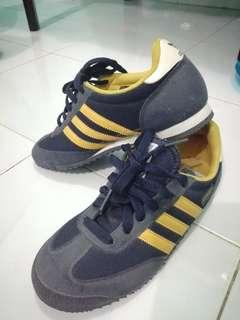 Adidas Dragon Black And Yellow
