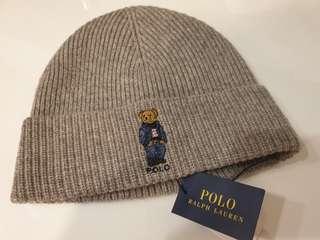 🚚 Polo小熊針織帽