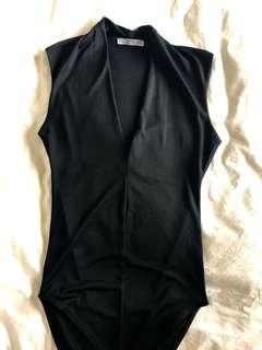 Zara bodysuit black size small