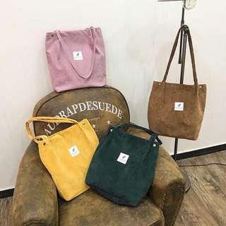 Curdoroy bag