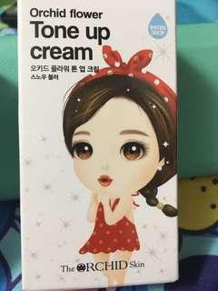 韓國素顏霜Orchid flower tone up cream