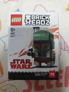 Lego 41629 brickheadz star wars boba fett