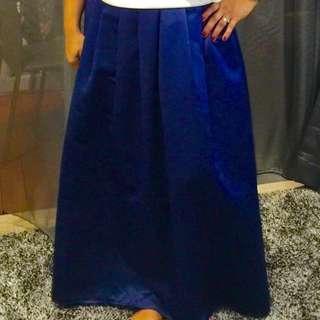 🚚 Blue Long Skirt