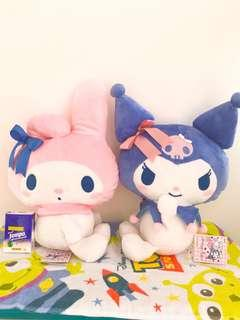 💕My Melody and Kuromi 日本直送景品公仔