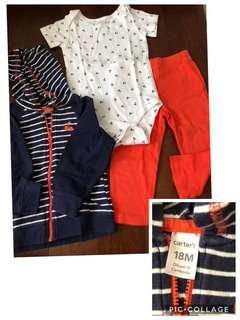 Take all baju anak perempuan carters authentic 18-24