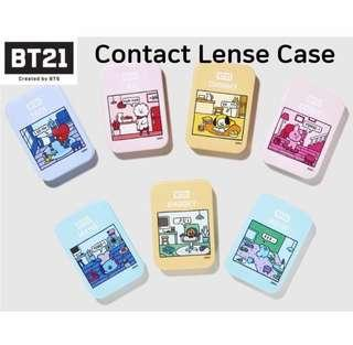 [PO] BT21 X OLIVE YOUNG CONTACT LENS CASE