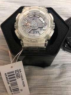 G Shock transparent watch