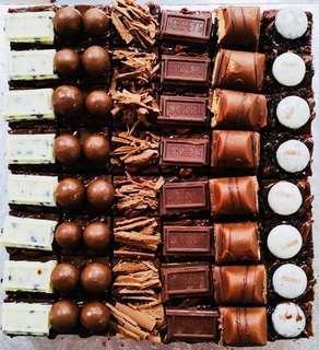 Chocolate Delights Brownies