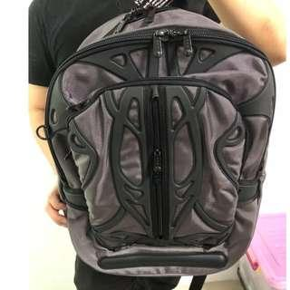 Slappa Laptop Travel Backpack (SL-BP-201) Velocity Spyder (Black/Gray)