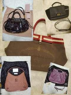 All bags listed @ only $1200!
