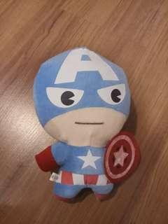 Captain America Soft Plush Toy