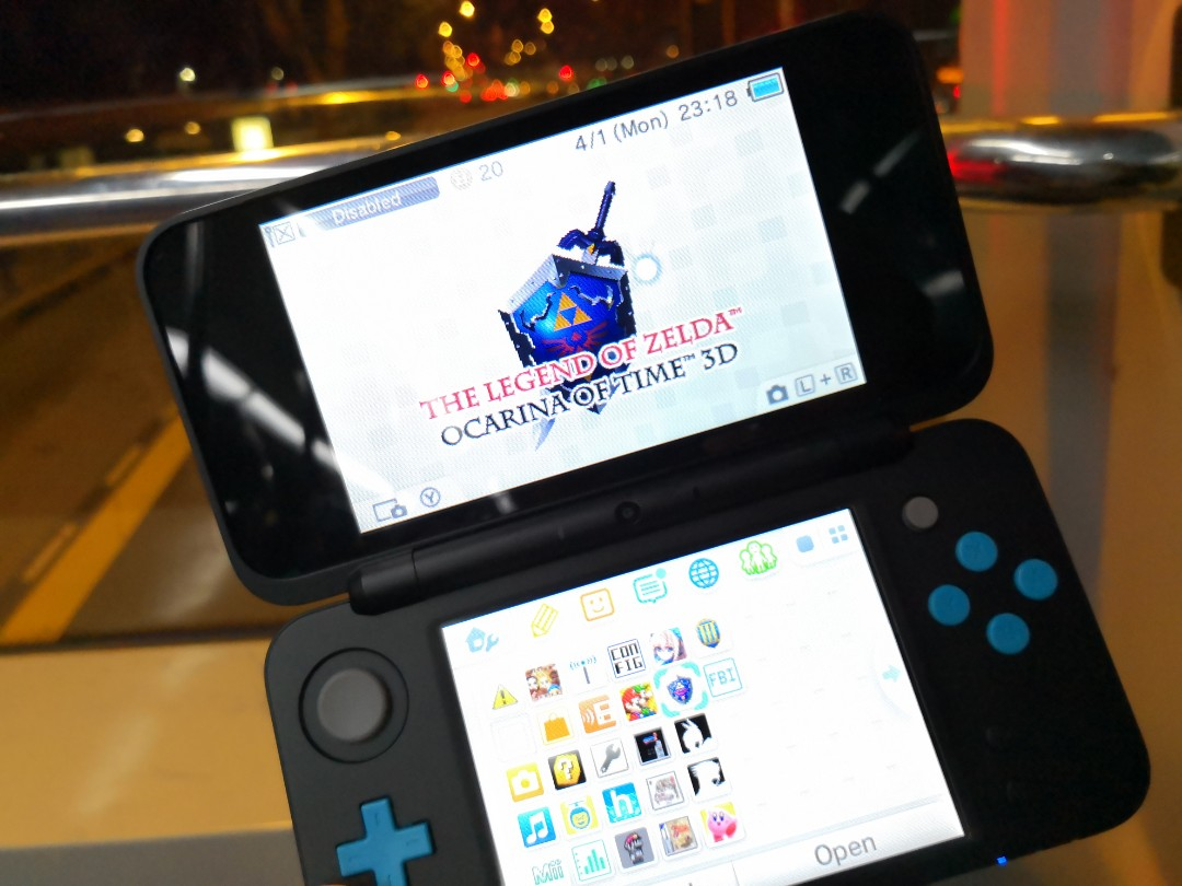 2ds xl modded 3ds