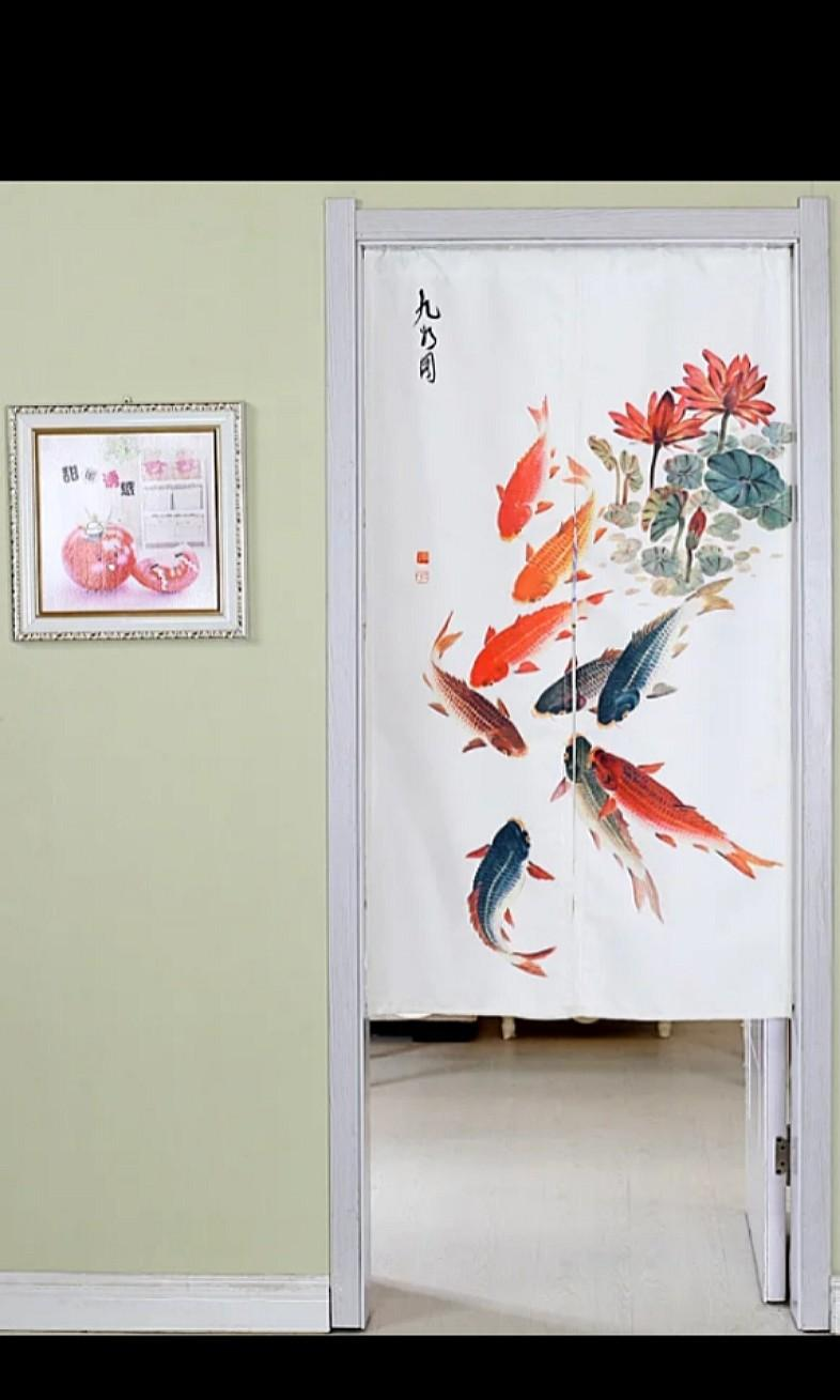 85X180cm In Stock Japanese Door Curtain Partition FengShui