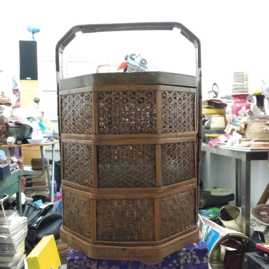 民國竹籃禮盒