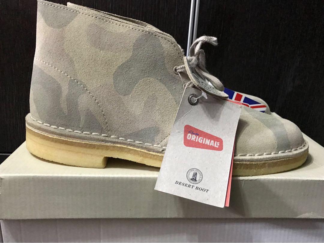《全新》 Clarks Originals DESERT BOOT 軍款短靴 皮鞋