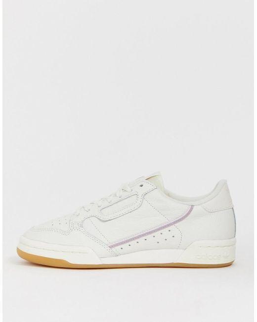 adidas continental 80 lilac, Women's