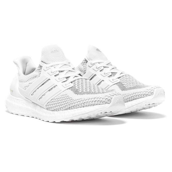 2298571e08 ADIDAS ULTRA BOOST 2.0 LTD WHITE REFLECTIVE Size US 10 Brand New ...