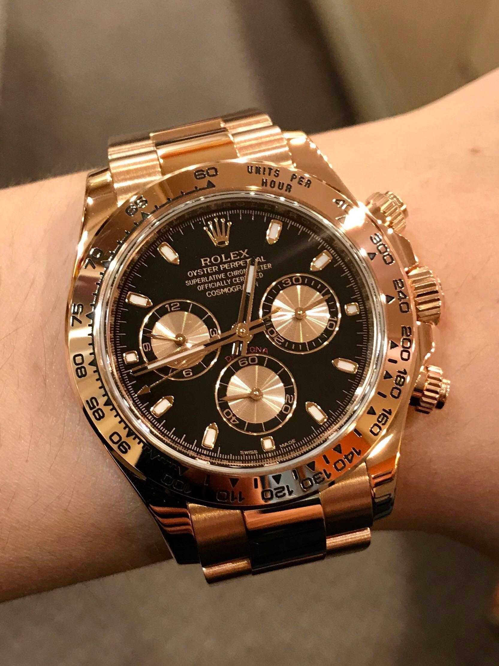 AN SERIES] Rolex Cosmograph Daytona FULL ROSE GOLD Ref