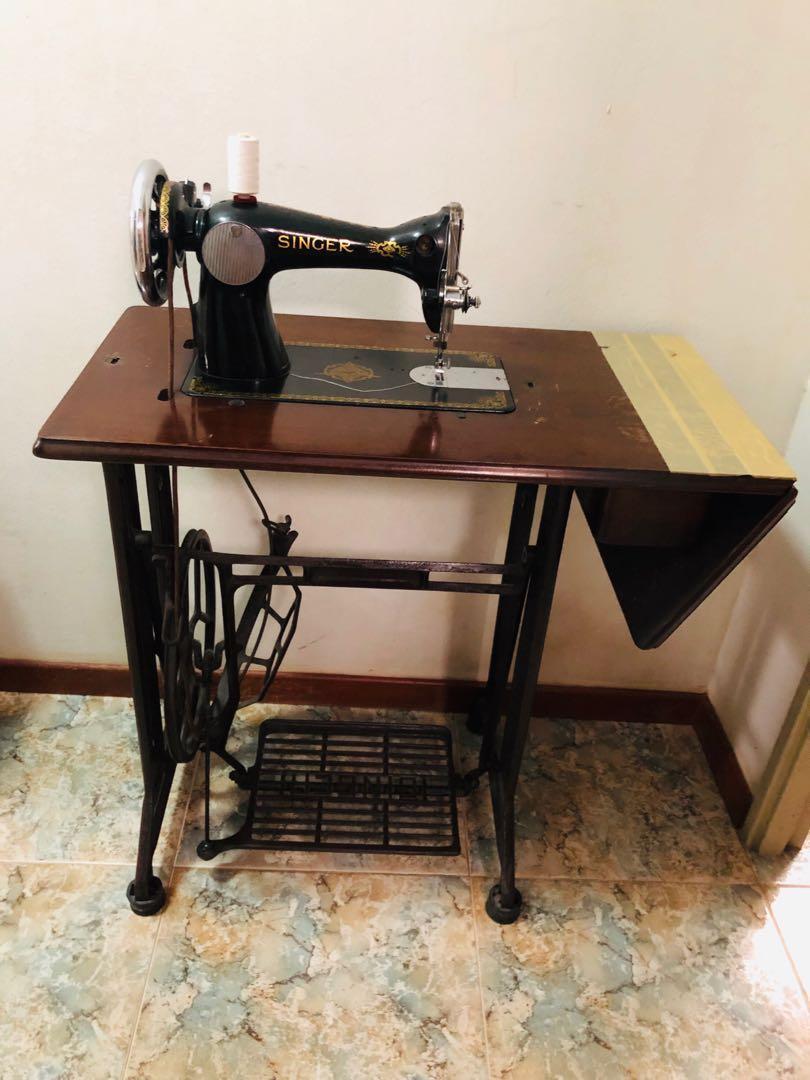 Outstanding Antique Singer Brand Sewing Machine Vintage Collectibles Home Interior And Landscaping Spoatsignezvosmurscom