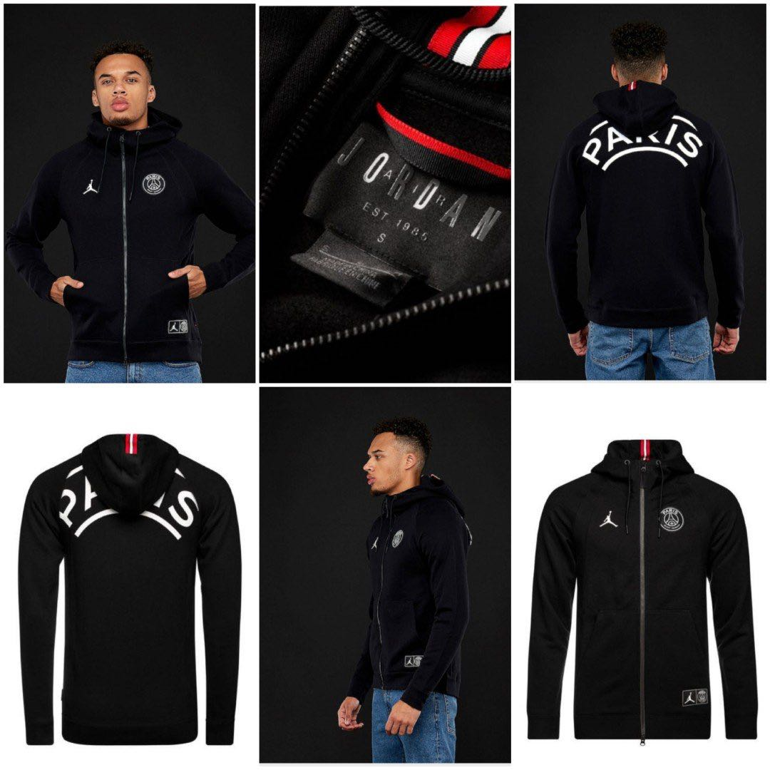 faf9ab848 Authentic BNIB JORDAN x PSG Wings ZIP Hoodie (M) Updated: 4/5/19 ...