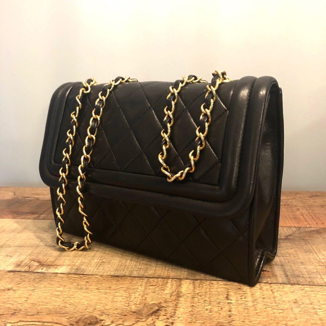 823da2ed04ea Authentic Chanel Lambskin Camera Half Fold Flap Bag w 24k Gold Hardware,  Luxury, Bags & Wallets, Handbags on Carousell