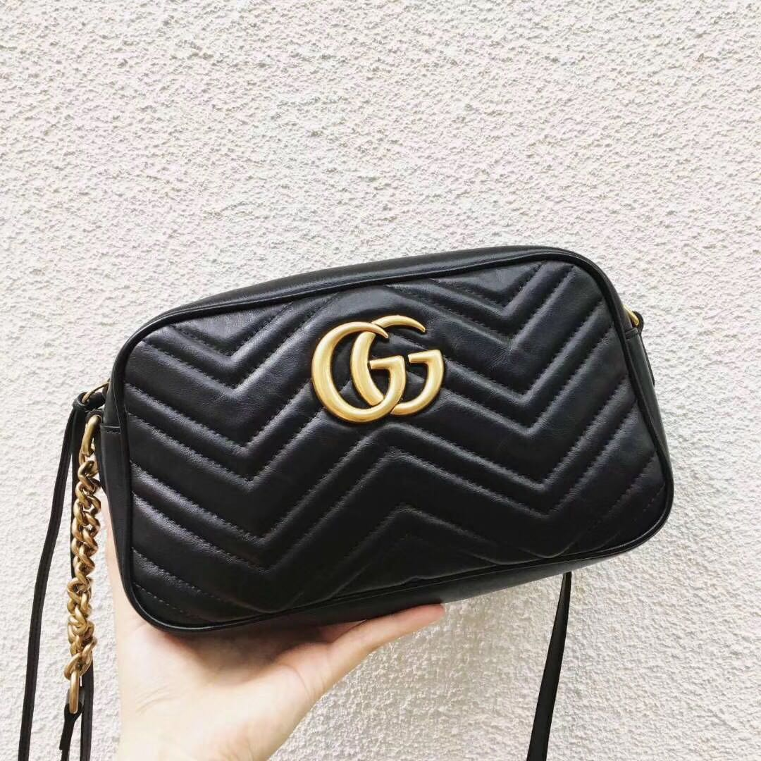e6e59f43b6df1 Authentic Pre-loved Gucci Marmont Camera Bag (Medium)