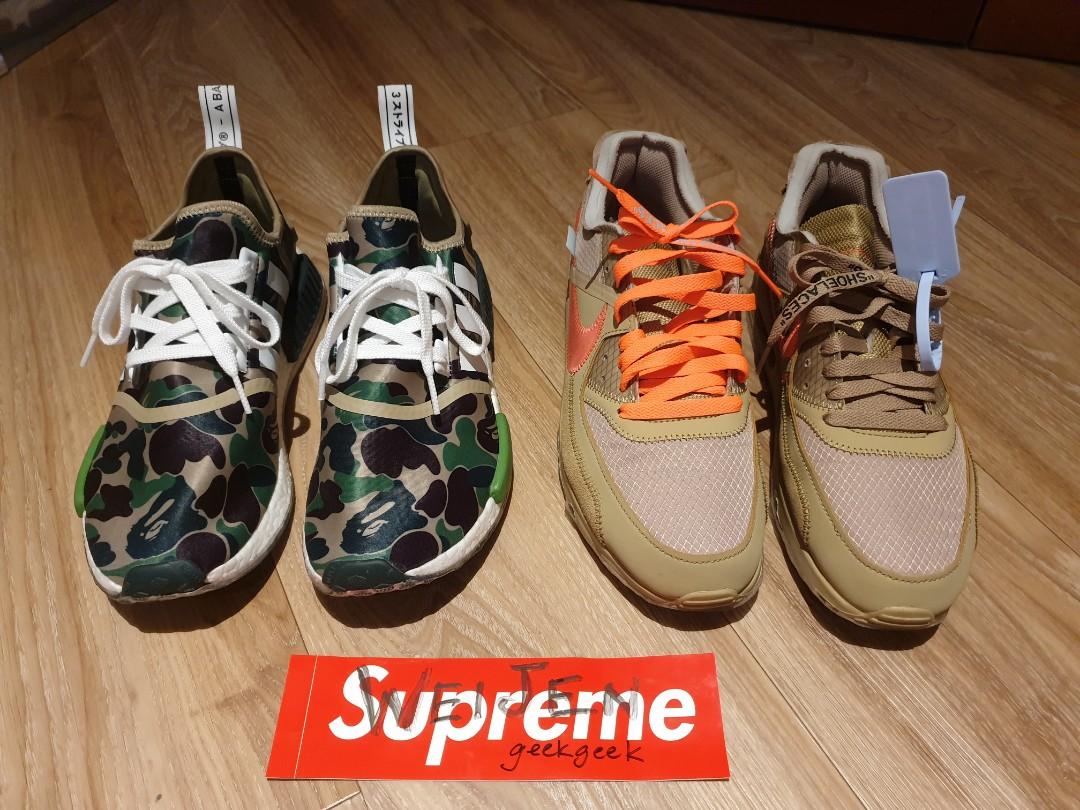 6b43f3f8 Bape x Adidas NMD R1 US 9, Men's Fashion, Footwear, Sneakers on Carousell