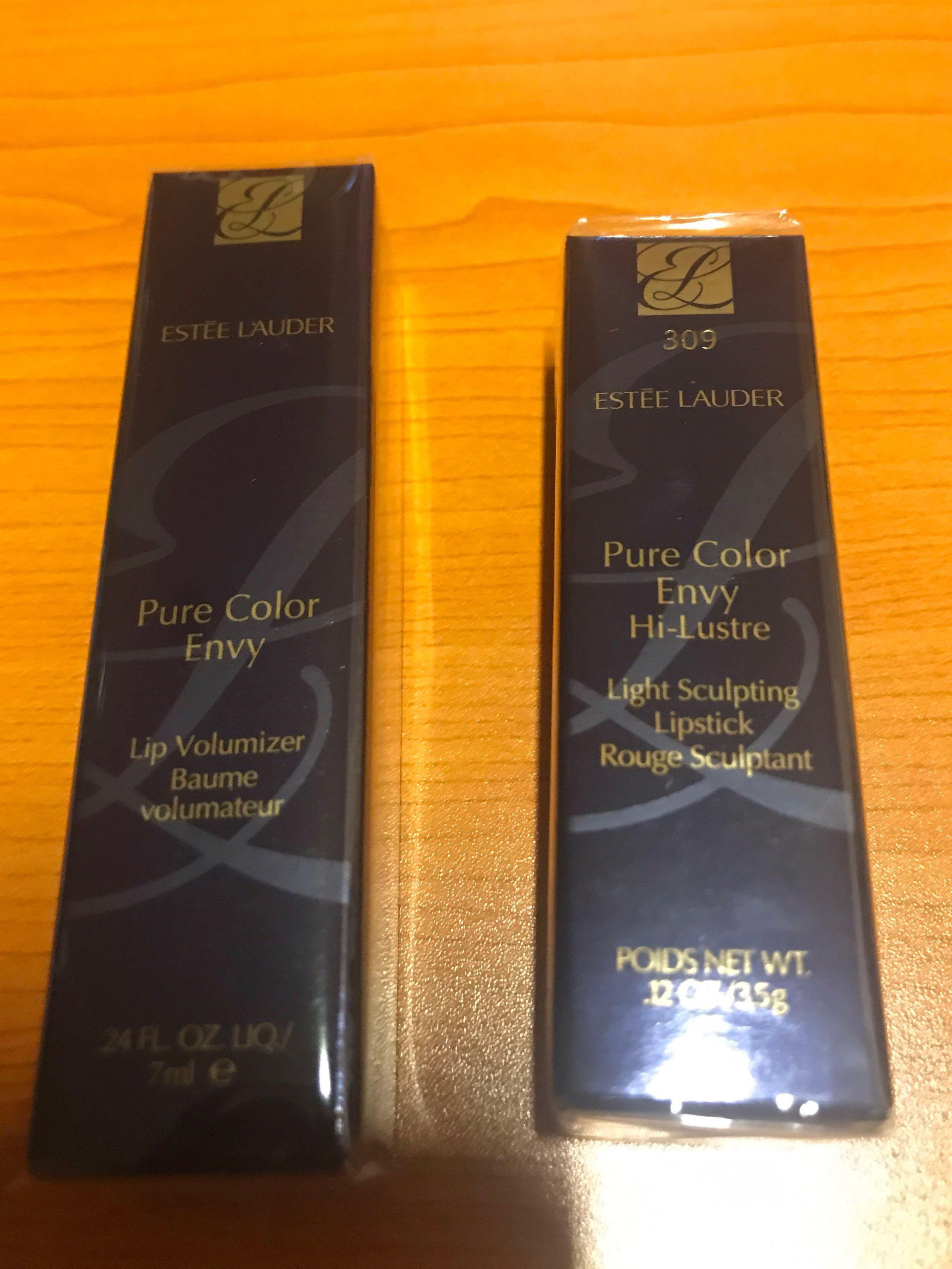BN Sealed Estee Lauder Lipstick and Lip Volumizer