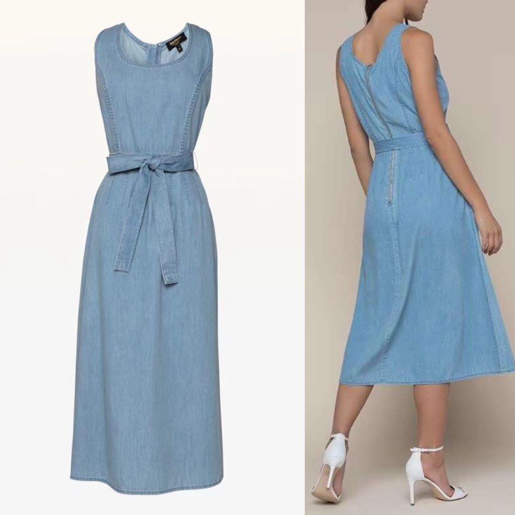 58208ce3b587 BNWT Authentic Juicy Couture Denim Dress, Women's Fashion, Clothes ...