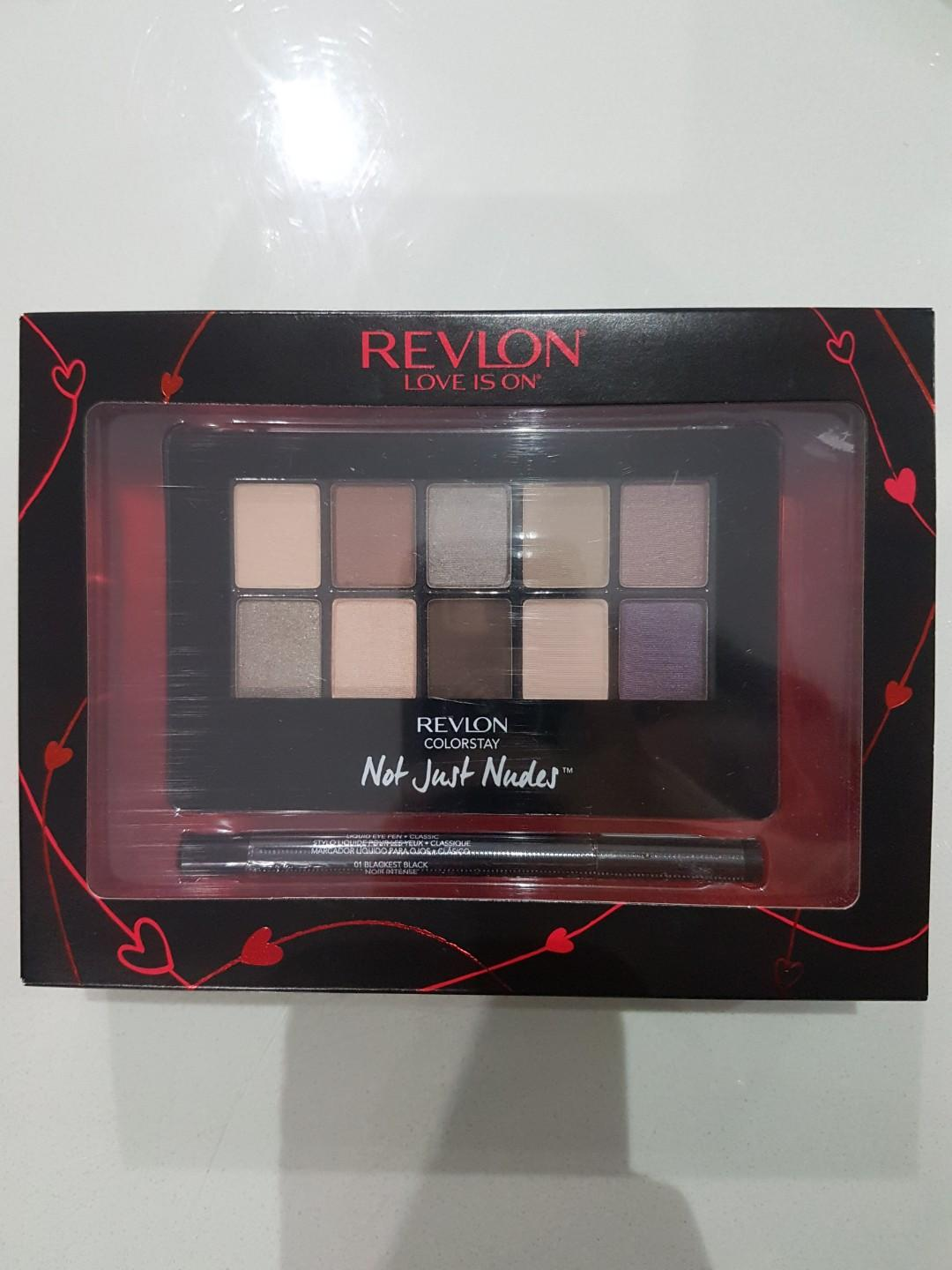 BRAND NEW Relvon Not Just Nudes Eyeshaow and Eyeliner Set