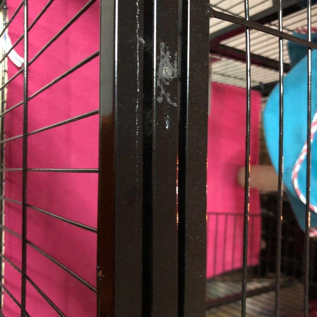 CHEAP BLACK 2 LEVEL Large Cat/Chinchilla Cage