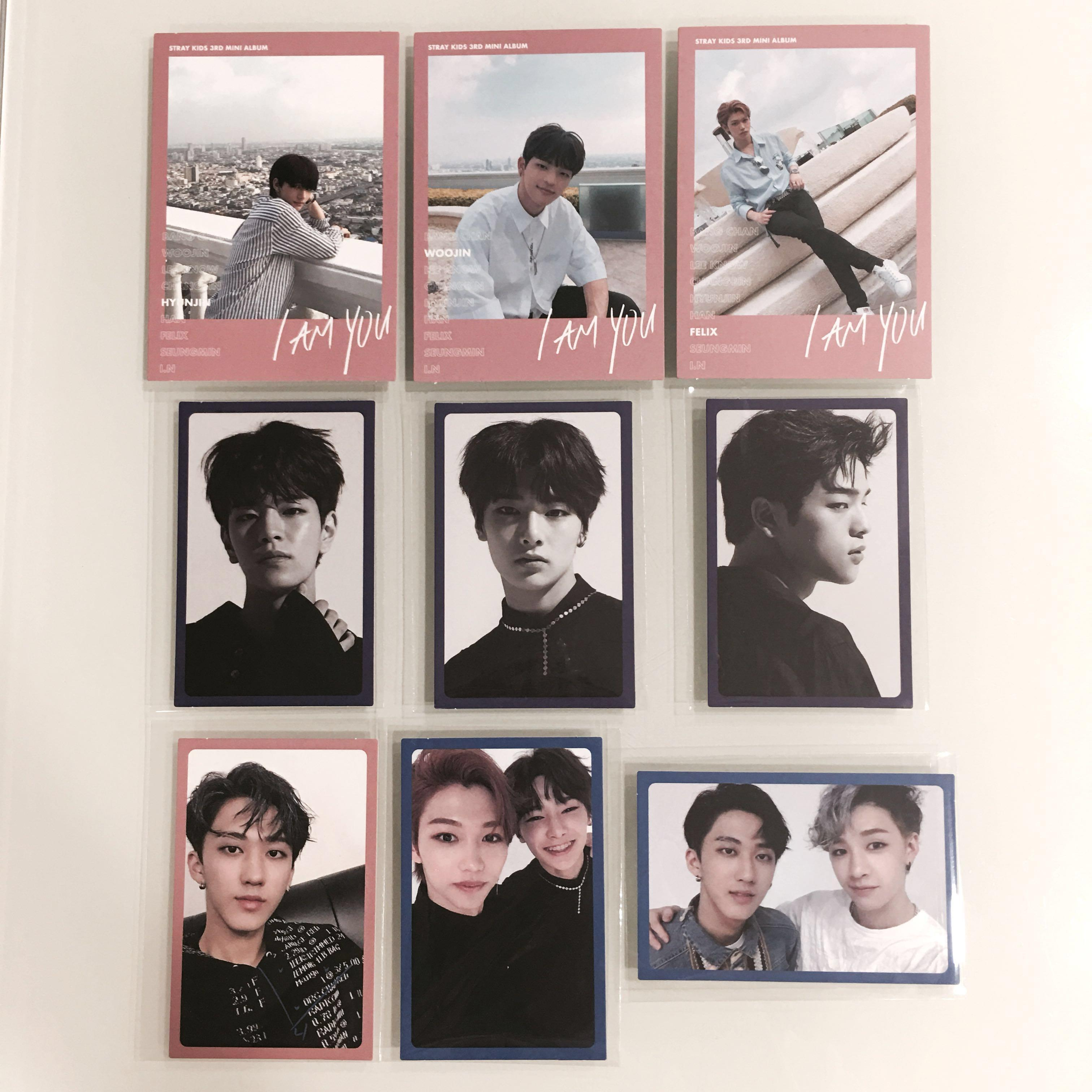 CLEARANCE] Stray Kids I Am You Photocards/PCs, Entertainment