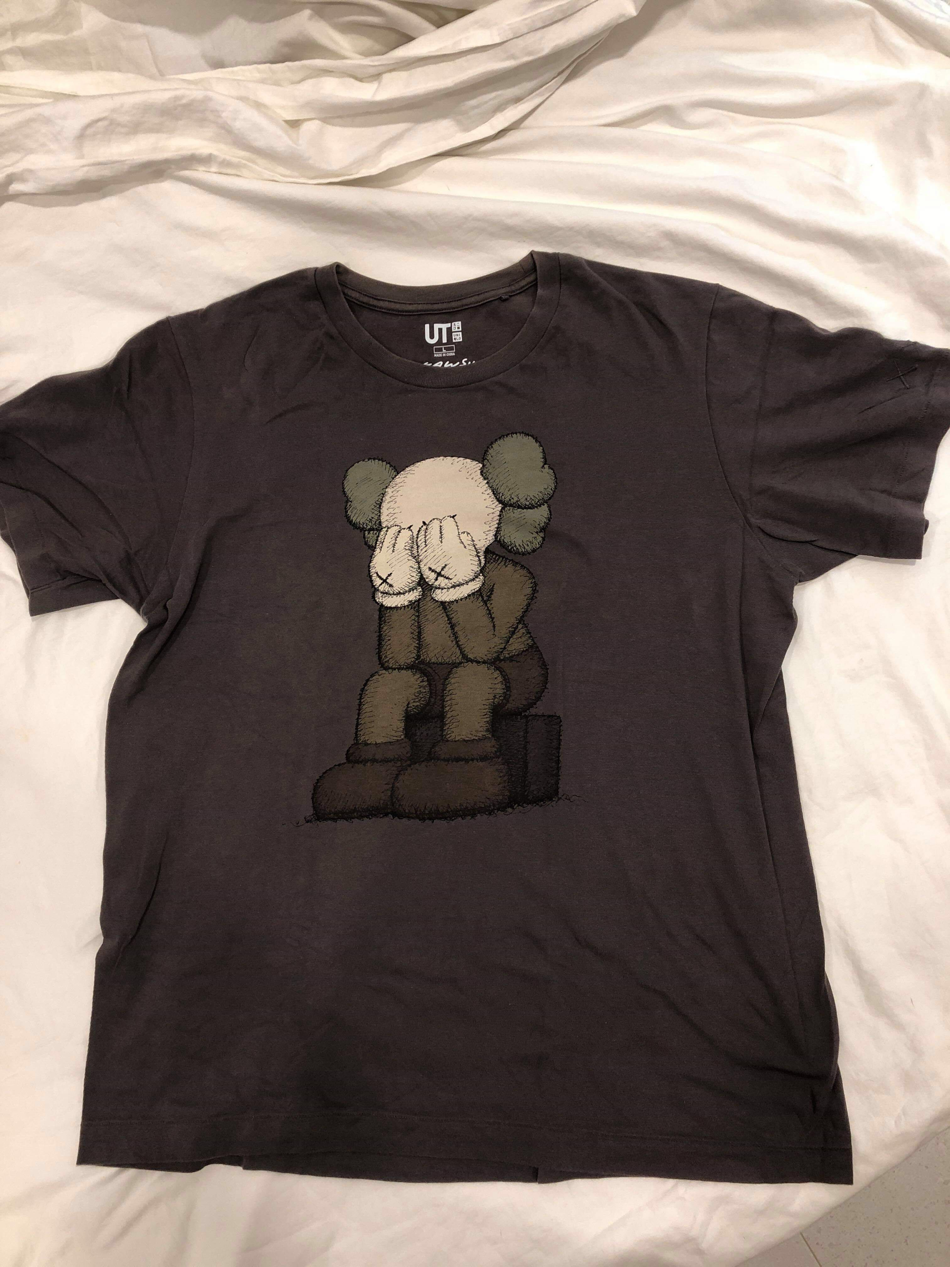 cb17264aa Clearing - Uniqlo x Kaws tee size L, Men's Fashion, Clothes, Tops on ...