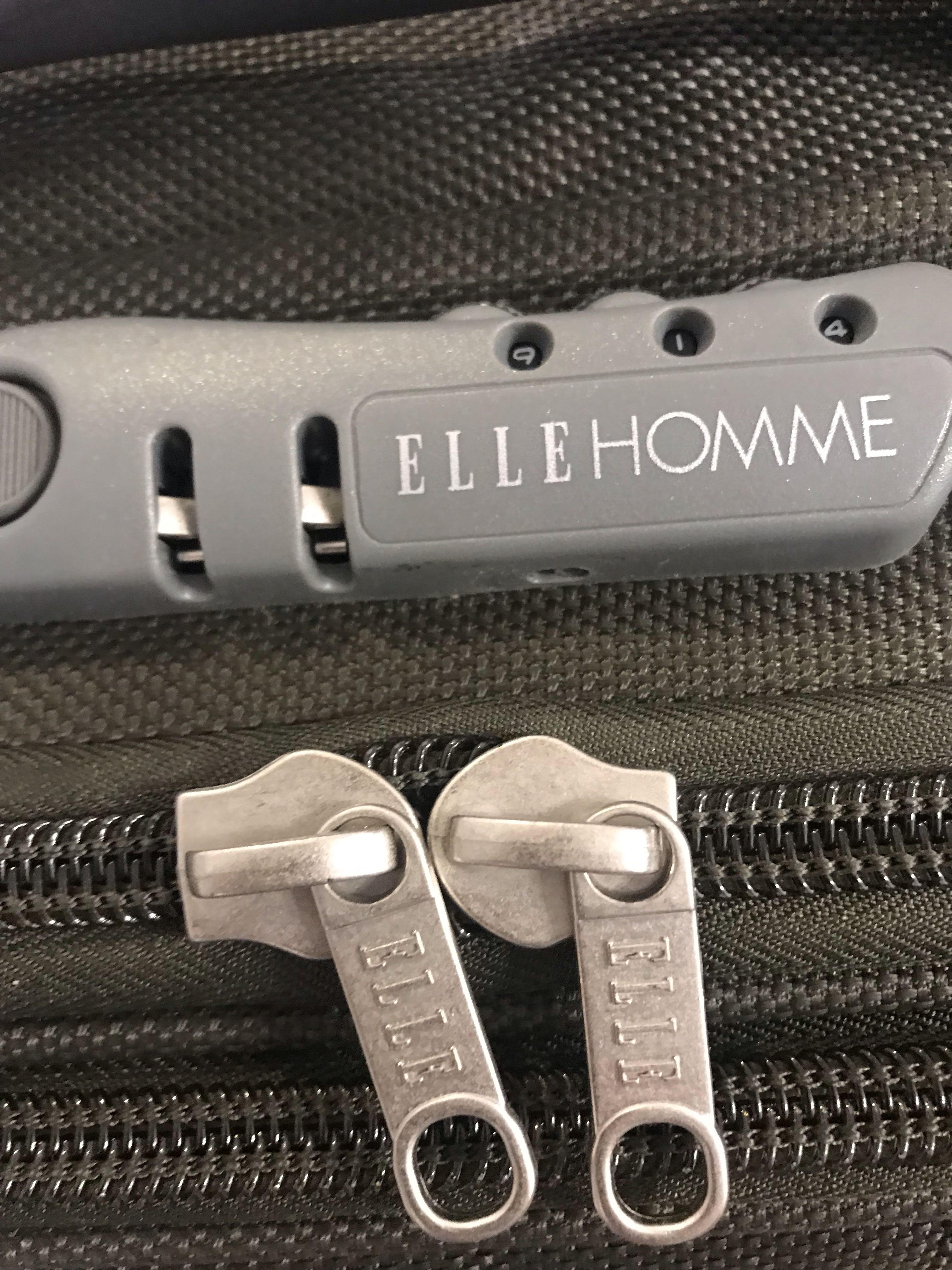 ELLE home luggage 喼, 軍綠同黑色各一, military green and black