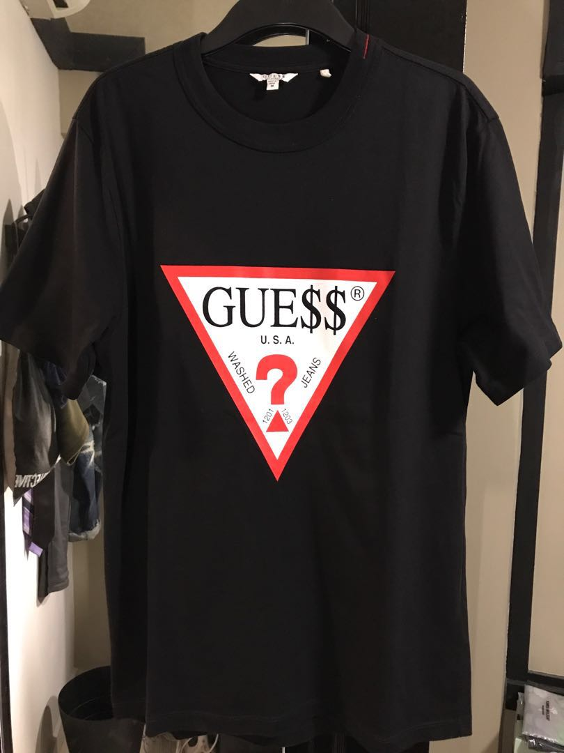 69f6499cae56 Guess? x ASAP Rocky (sz: M), Men's Fashion, Clothes, Tops on Carousell