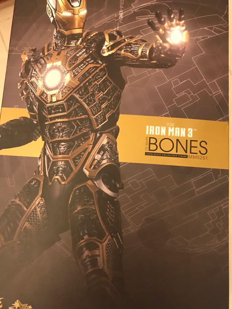 hottoys Ironman mark 41 bones mark XLI