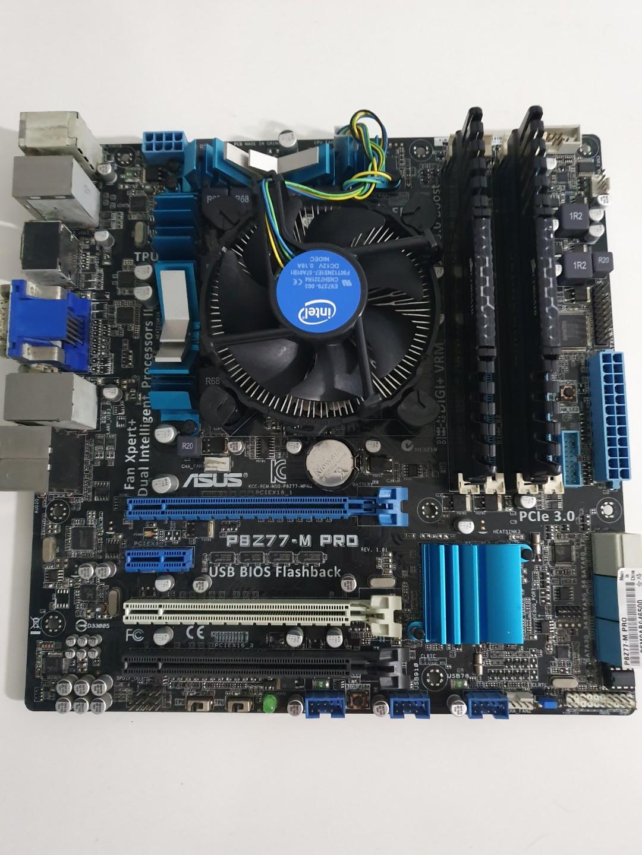 i7 3770/asus p8z77/8gb, Electronics, Computer Parts