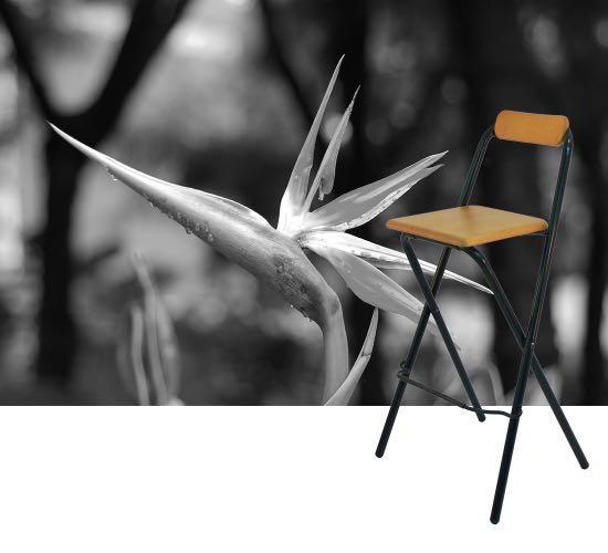 Ikea ニ手 Folding Barstool