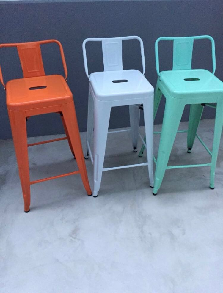 Terrific Industrial Colour Metal Bar Stools Andrewgaddart Wooden Chair Designs For Living Room Andrewgaddartcom