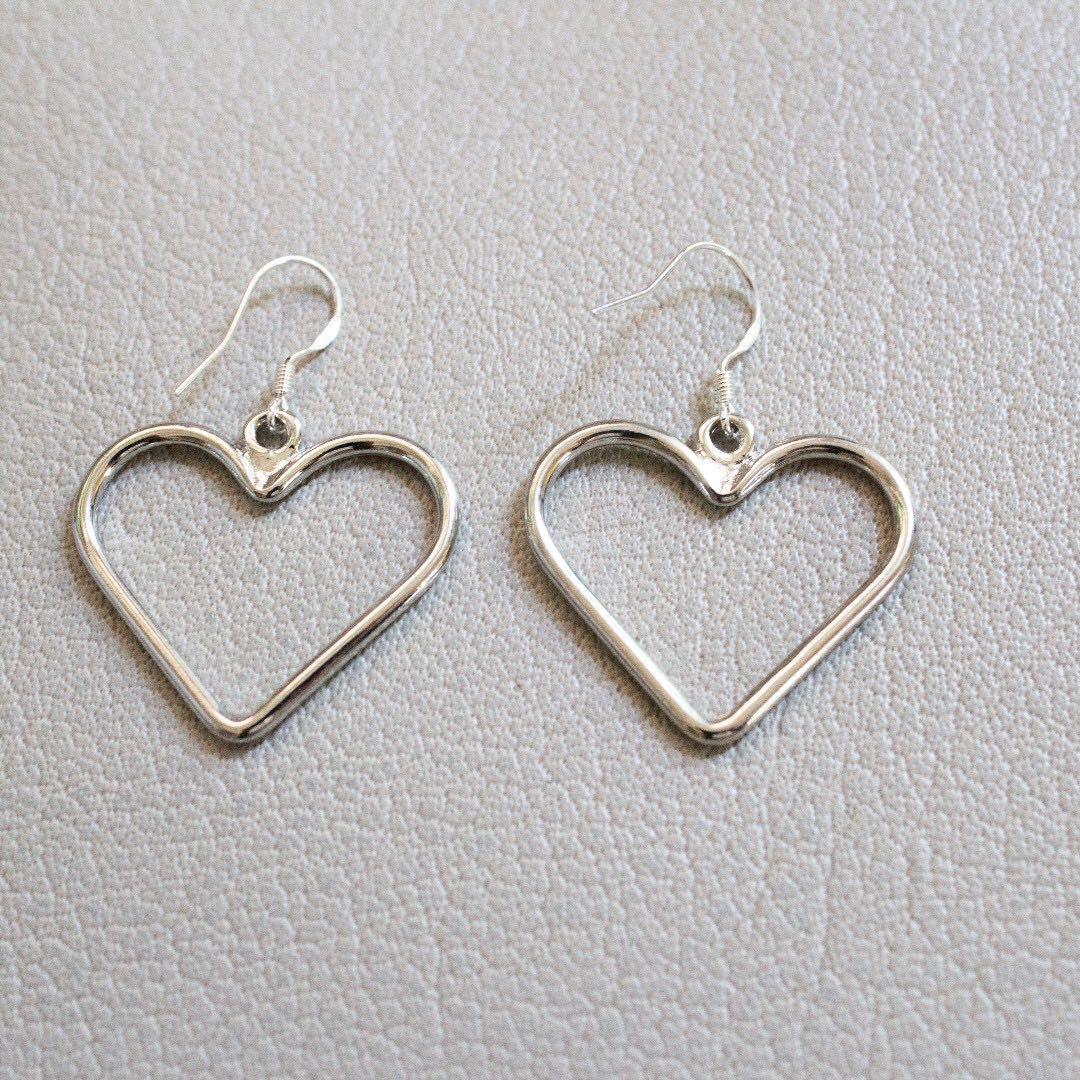 [Instock] S925 Heart Earrings