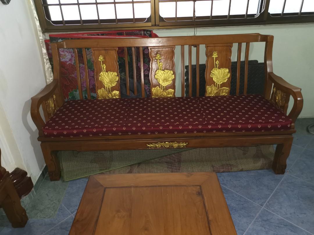 Jati Sofa Set