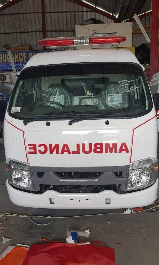 Jual ambulance isuzu traga