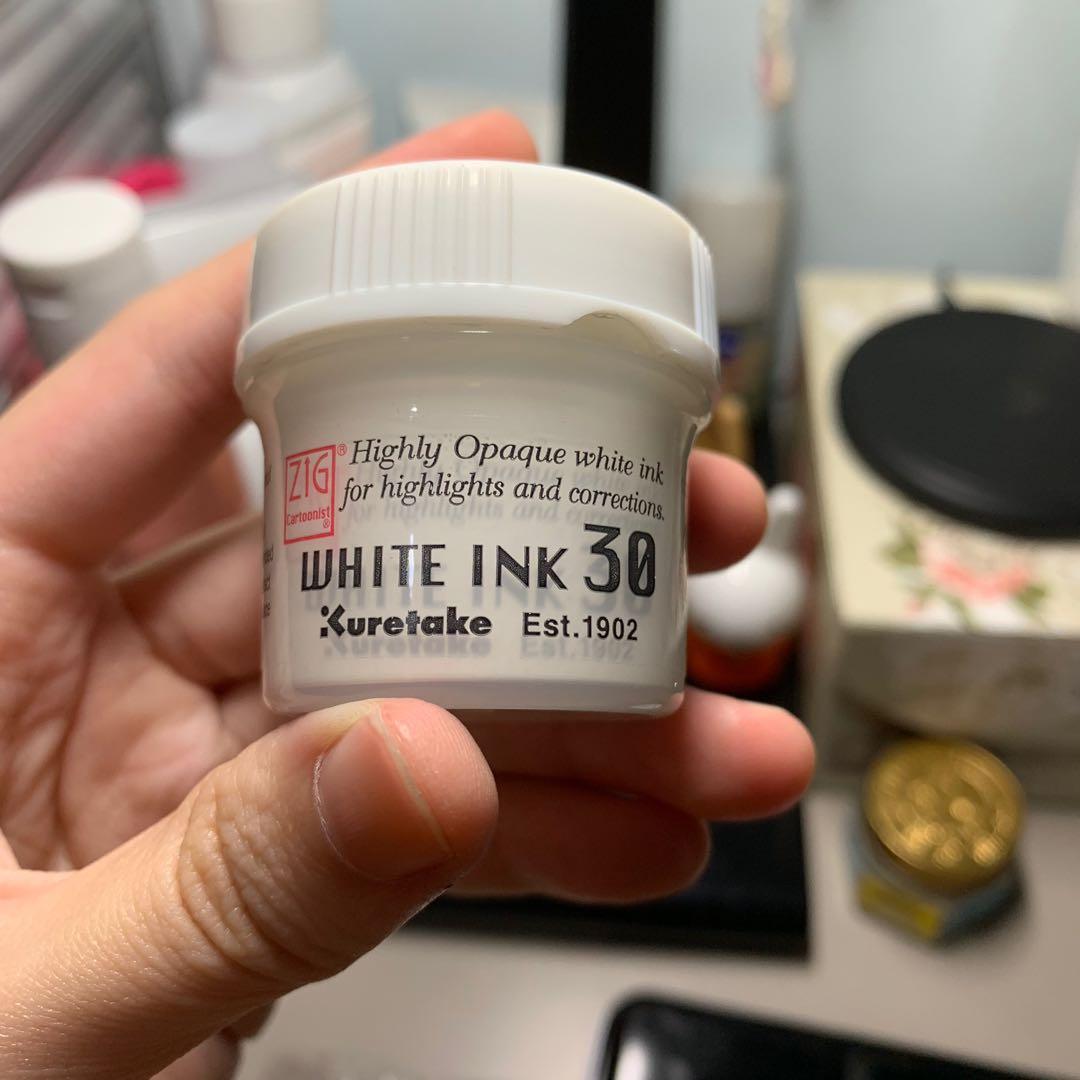 Kuretake Zig White Ink
