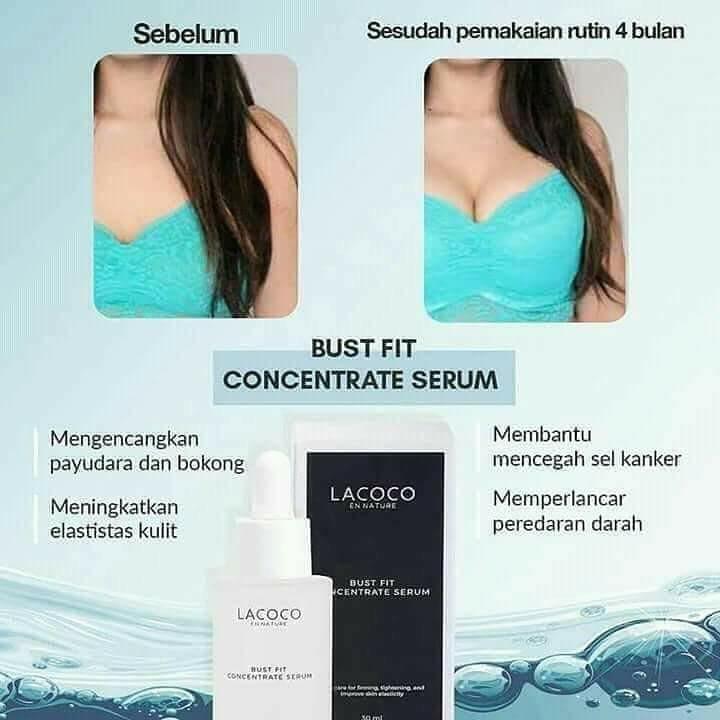 LACOCO bust Fit concentrate serum untuk merawat dan memperbesar payudara