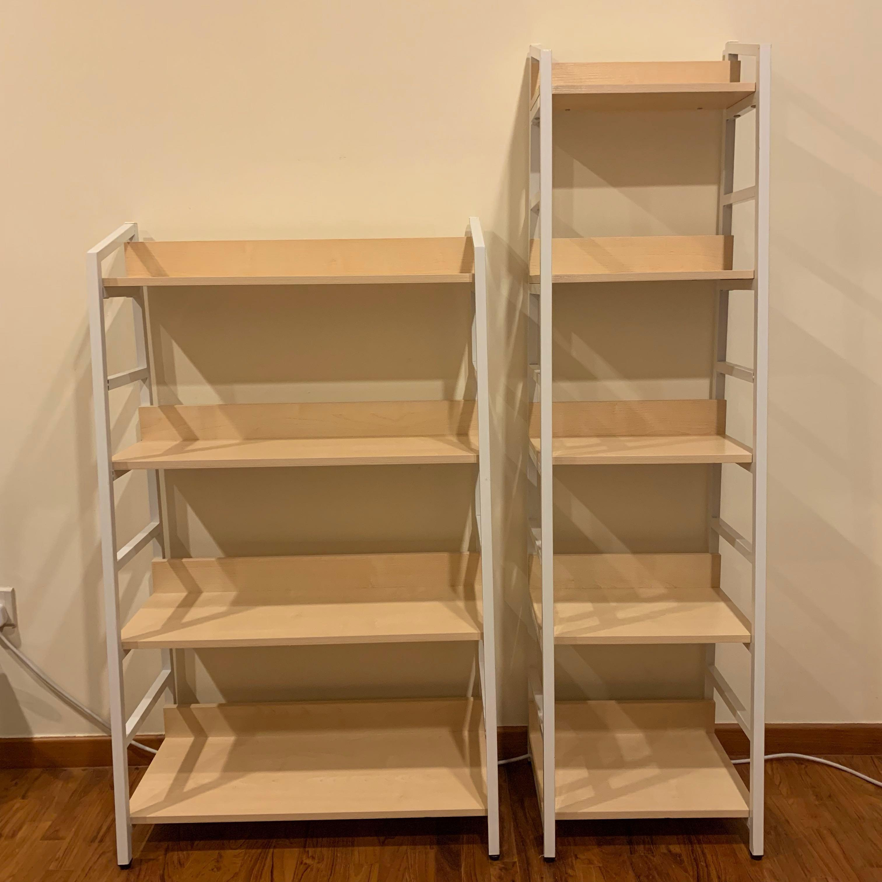 best service 53726 8fc16 Lennon Shelf (wide 4-tier/slim 5-tier), Furniture, Shelves ...