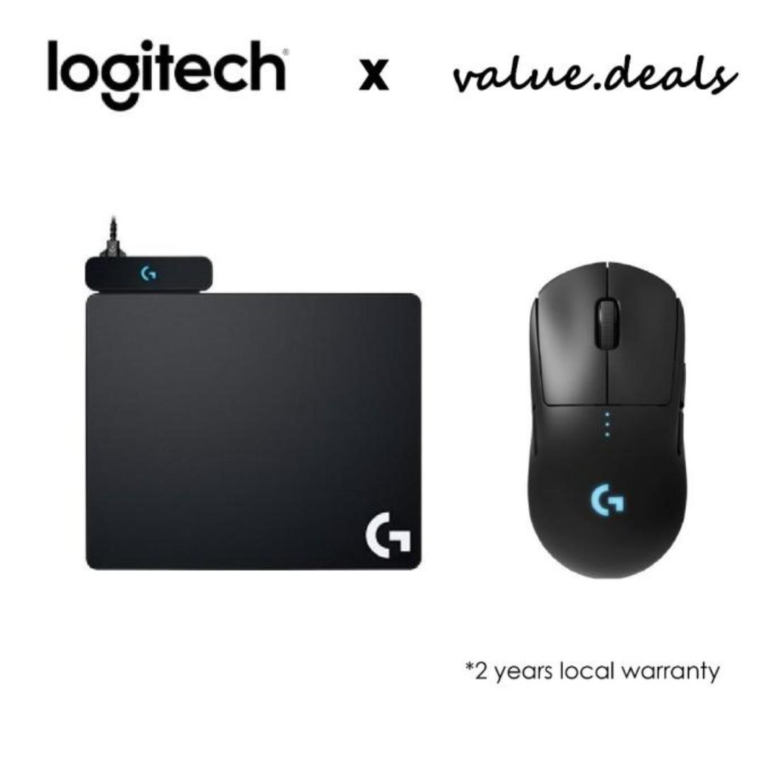 Logitech G pro hero wireless mouse and Wireless charging