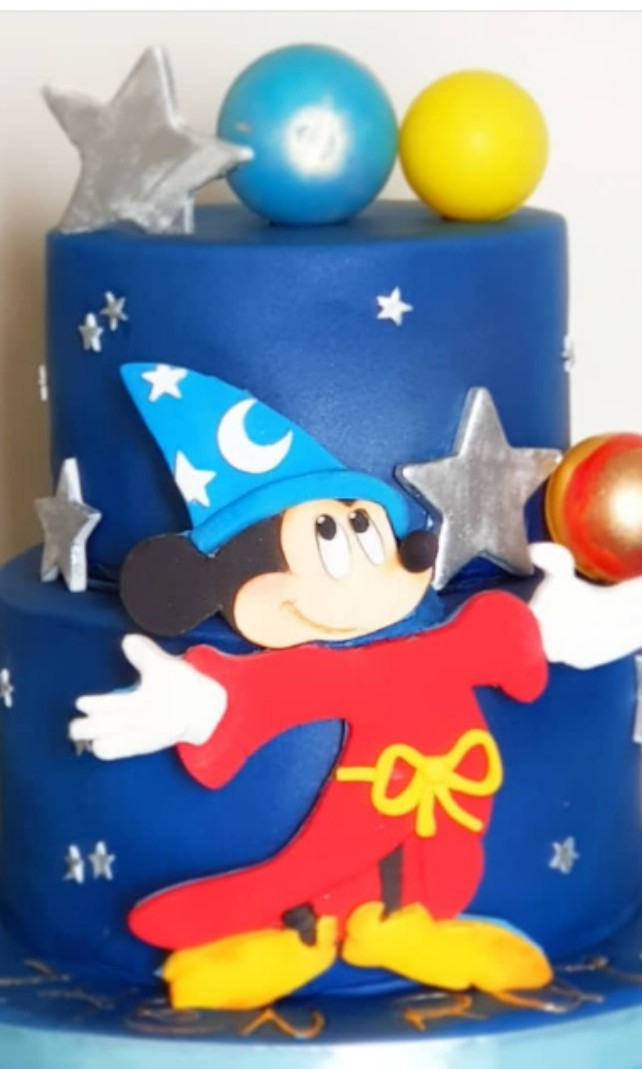 Mickey Mouse Birthday Cake Food Drinks Baked Goods On Carousell