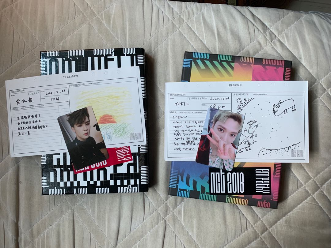 NCT 2018 Empathy albums Dream and reality version
