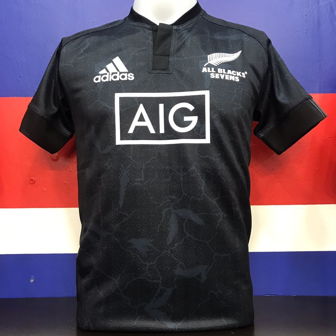 df7ce1079a1 New Zealand All- black Rugby Jersey seven-player, Sports, Sports ...