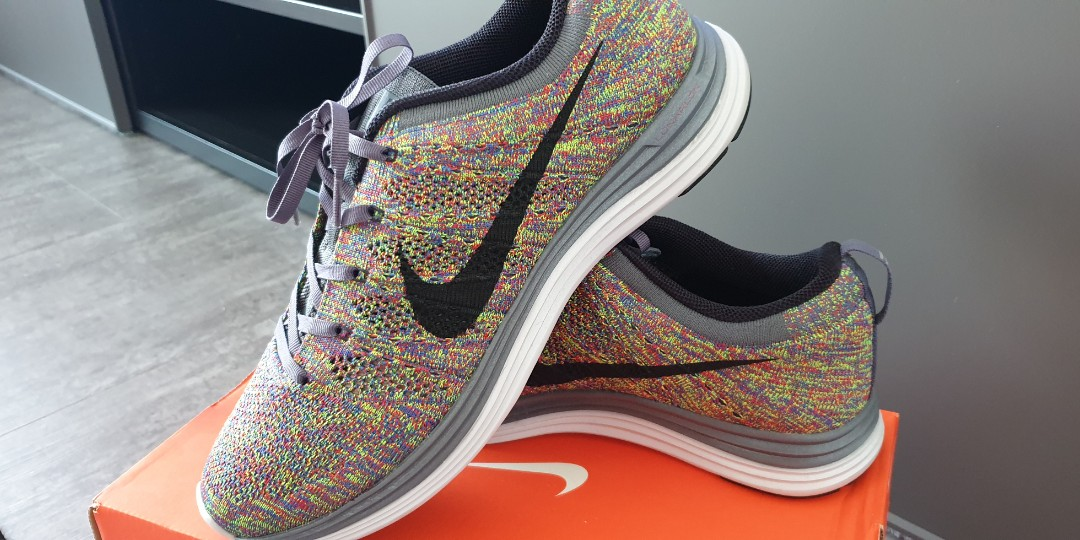 speical offer discount outlet Nike Flyknit Lunar 1+ Multicolor